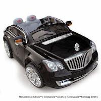 hitam Maybach pliko pk999n battery toy car
