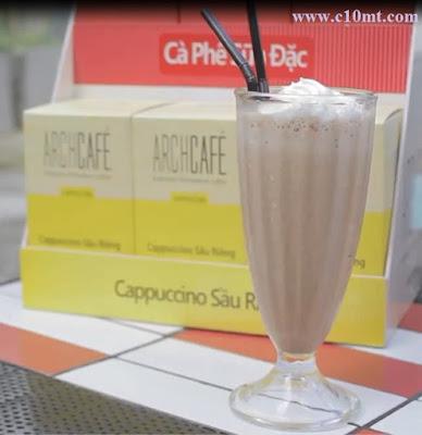 Hướng dẫn pha chế Cappuccino Sầu Riêng Đá Xay
