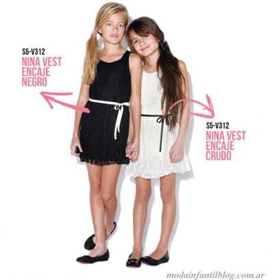 vestidos nenas para fiestas queen juana verano 2014