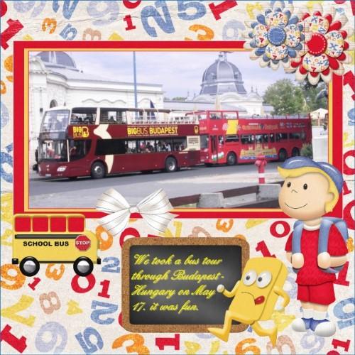 May 2016 Bus tour Budapest Hungary