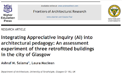 Research on Glasgow: Appreciative Inquiry (AI) - Latest Contributions to Architectural Pedagogy