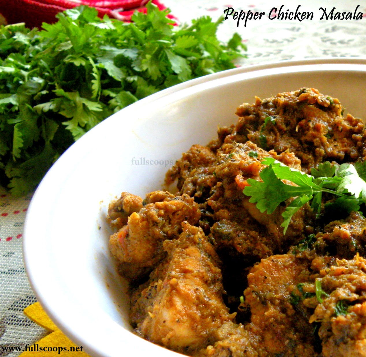 Pepper Chicken Masala