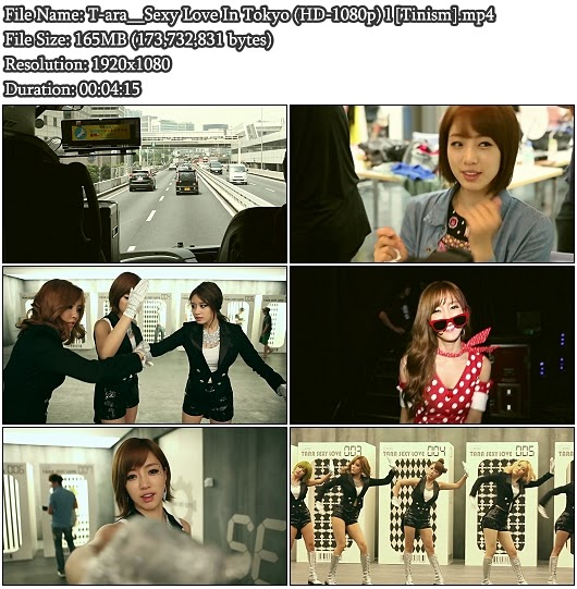 Download MV T-ara - Sexy Love In Tokyo (Full HD 1080p)