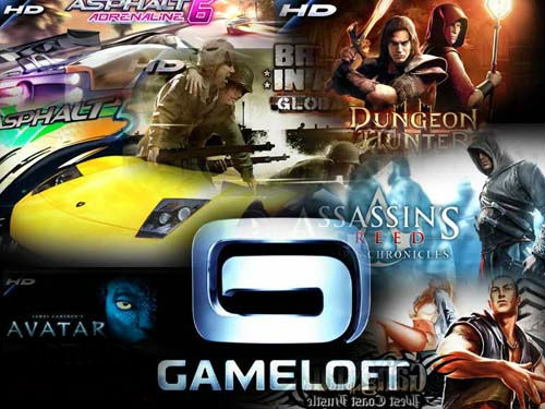 gameloft android hd games list