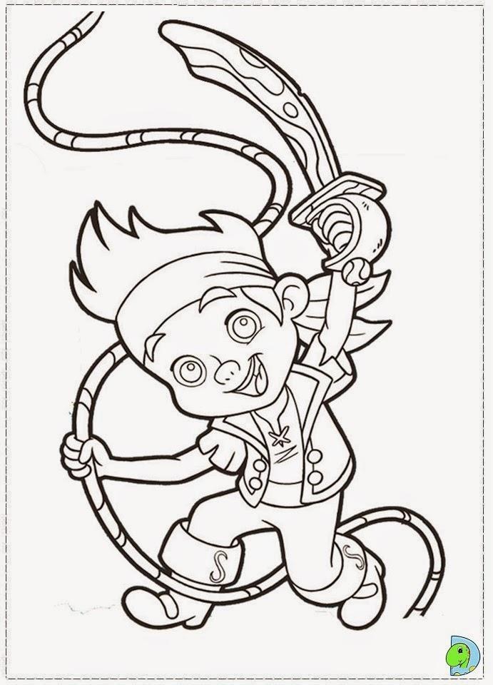 dinokids desenhos para colorir desenhos de jake e os piratas na