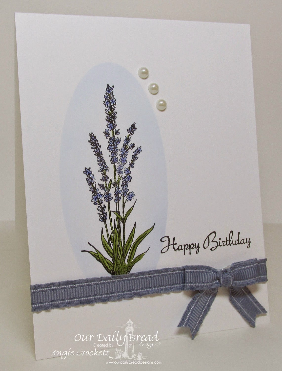 ODBD Lavender, Smell the Roses, Card Designer Angie Crockett