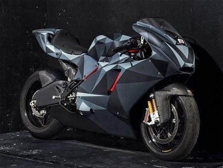Modifikasi Motor Ducati ala Kertas Lipat
