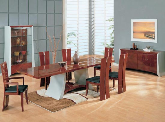 Modern Dining Room Table Extension