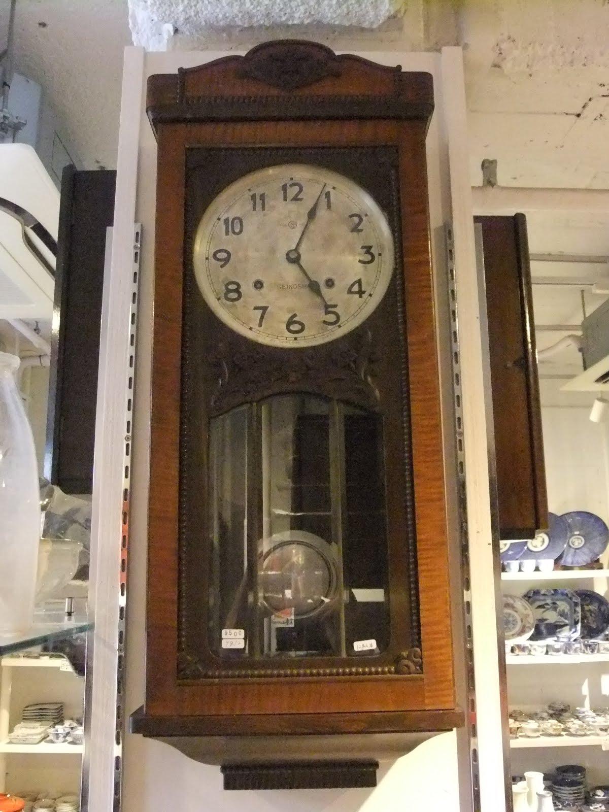 セイコー社長角大型掛け時計