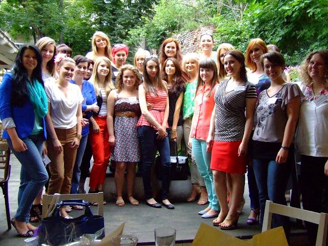 Krakowskie spotkanie blogerek 14.07.2012 :)