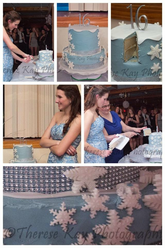 Event Photography Sweet Sixteen Snowflake Party