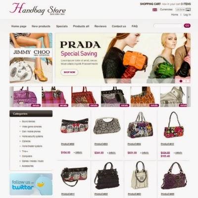 thiết kế web bán hàng túi xách đẹp
