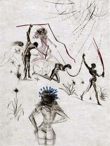 Salvador dali venus aux fourrures venus de las pieles