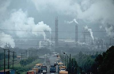 Polusi udara Bisa Merusak Otak