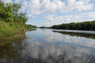 photo of St. Croix River looking upstream