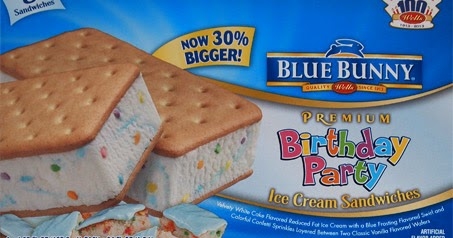On Second Scoop Ice Cream Reviews Friday Night Fight With Blue Bunny Birthday Party And Perrys Sandwiches