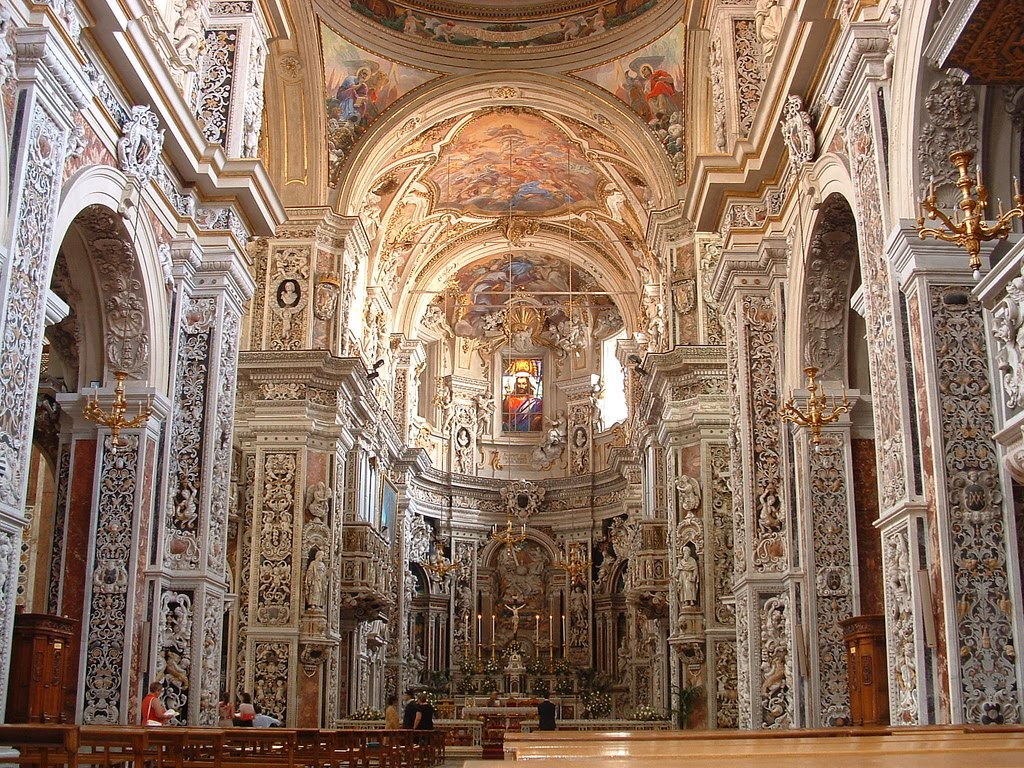 New liturgical movement two examples of the sicilian baroque for Baroque italien