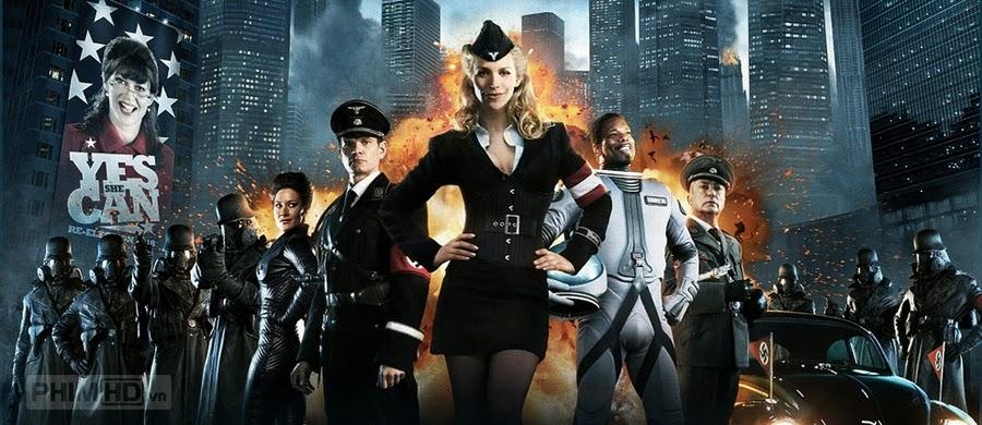 Phim Bầu Trời Sắt VietSub HD | Iron Sky 2012