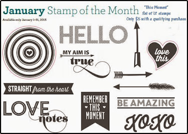 January 2015 Stamp of the Month It's The Little Things