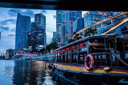 Marina Bay Boat Ride Singapore