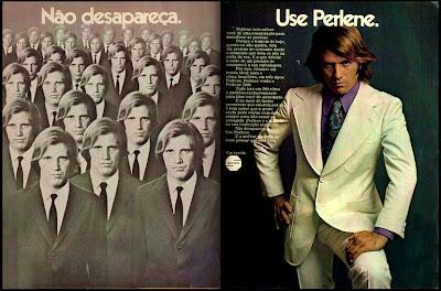 propaganda Perlene - 1972. Moda anos 70; propaganda anos 70; história da década de 70; reclames anos 70; brazil in the 70s; Oswaldo Hernandez