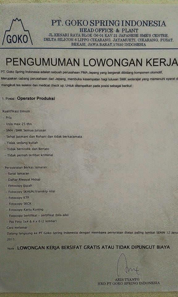"<img src=""Image URL"" title=""PT. Goko Spring Indonesia"" alt=""PT. Goko Spring Indonesia""/>"