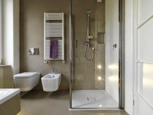 Salle de bains lambris id es d co moderne - Panneaux muraux pour salle de bain ...