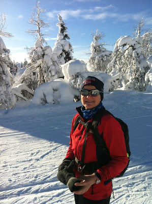Skitur på Nordseter