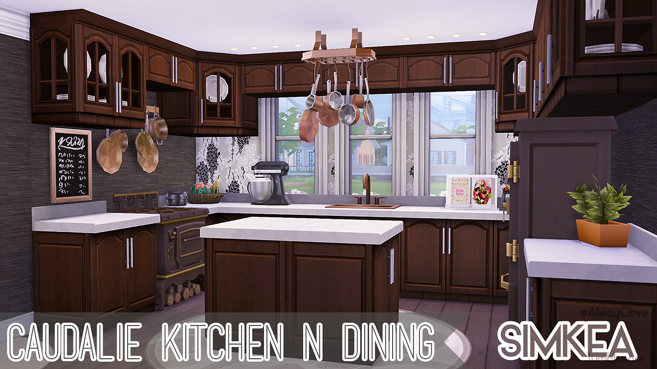 My sims 4 blog caudalie kitchen n dining by simkea for Kitchen ideas sims 4
