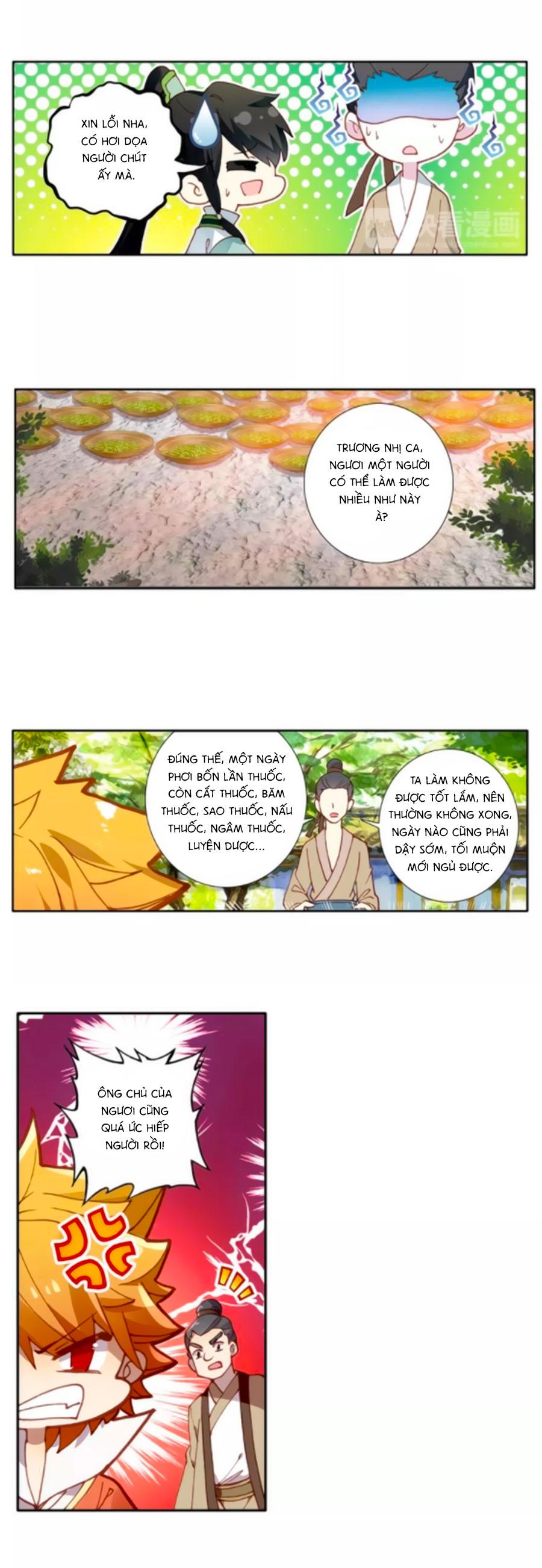 Trâm Trung Lục trang 13