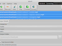 Convert Video to Audio in Linux