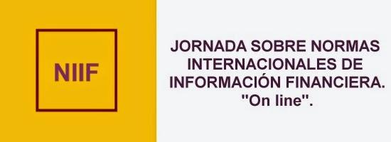Curso online sobre Normas Internacionales de Información Financiera.