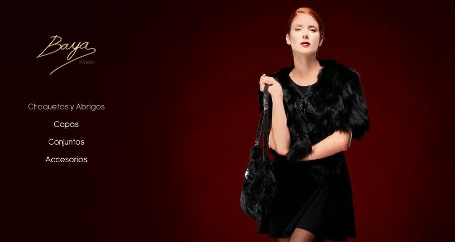 Abrigos, chaquetas y más moda mujer en piel de Baya París.