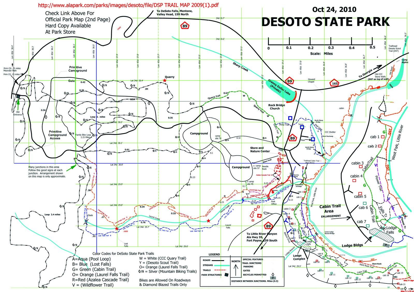 W4UOA DeSoto State Park