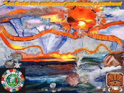 """Celebren este último día del ciclo Tzolkin, """"los finales son comienzos"""", nos volveremos a reunir en las Energía del Día!"""