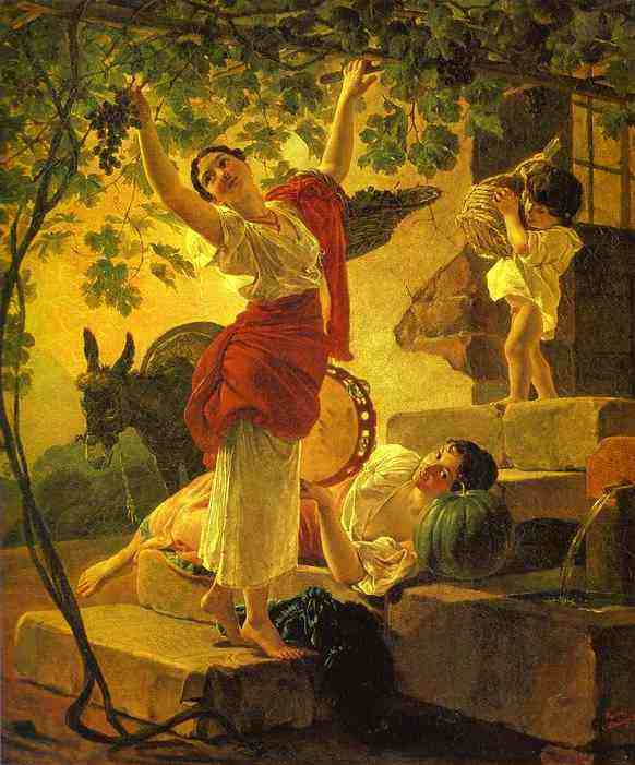 karl bryullov grapes