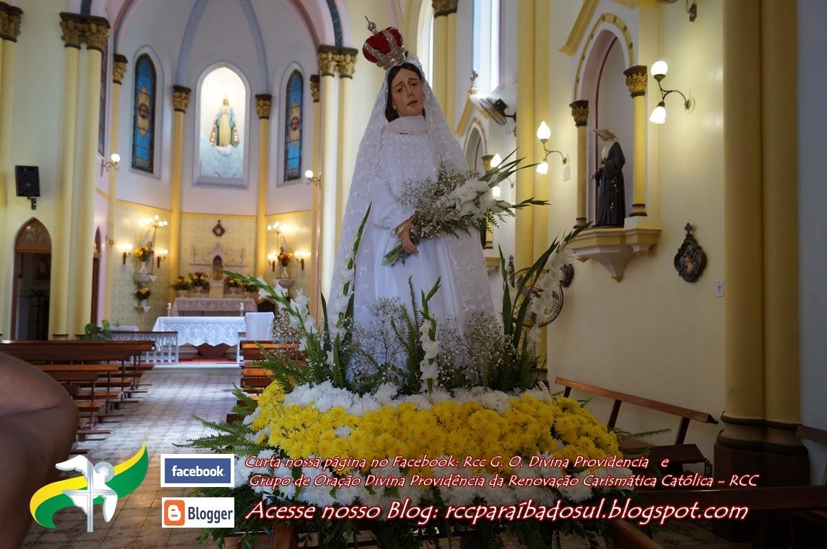 Domingo de Páscoa 20/04/2014: Procissão do Triunfo de Nossa Senhora