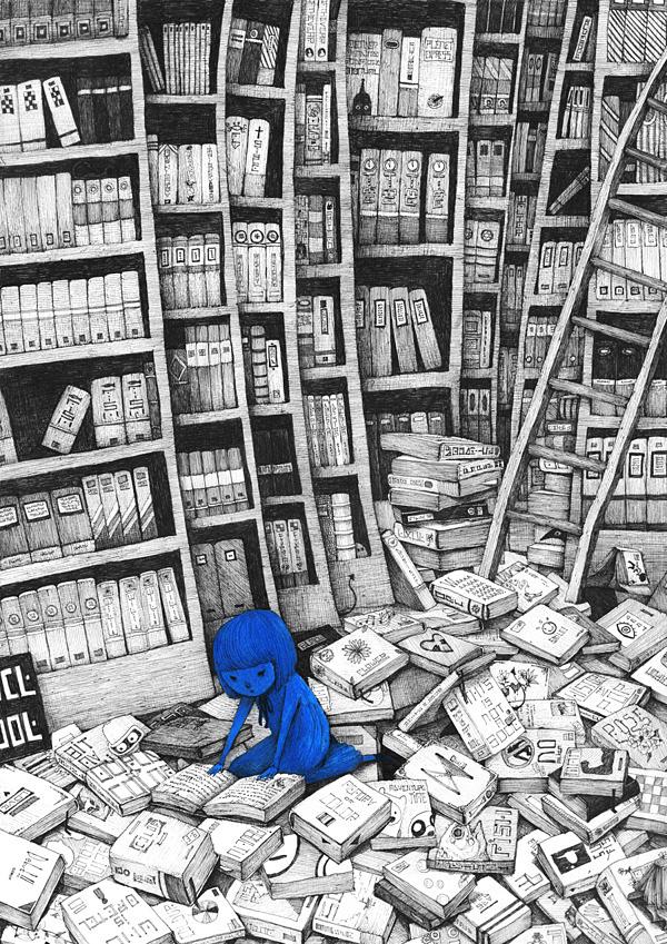 Bluegirl: Illustrations by Sungwon