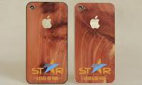 Vỏ gỗ điện thoại iphone4, vỏ gỗ điện thoại, vo go dien thoai