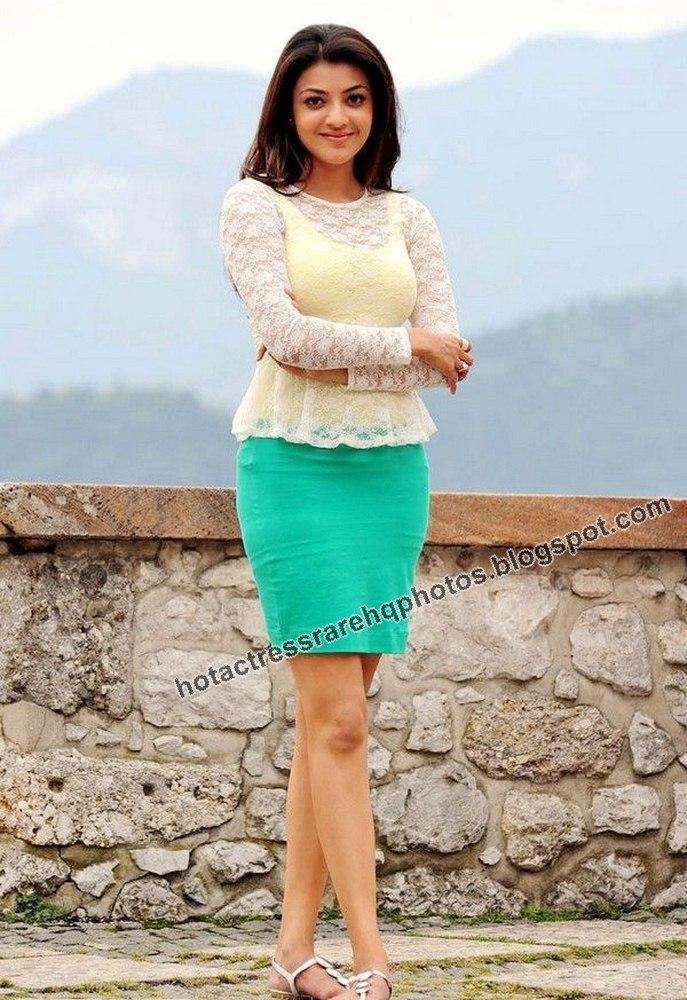 Kajal Agarwal Hot Back Show In Nayak Hot Indian Actress Rar...