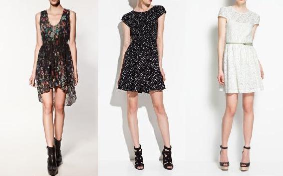 vestidos de zara para jovenes