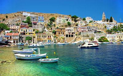 Vista de la costa en Grecia - Greece coast view  - Lugares turisticos para visitar
