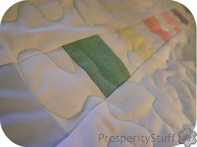 ProsperityStuff Free-Motion Quilting Little Oxford Squares