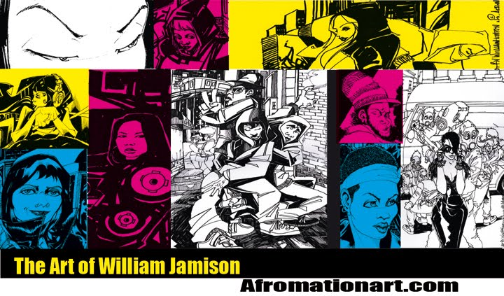 Afromation:The Art of William Jamison