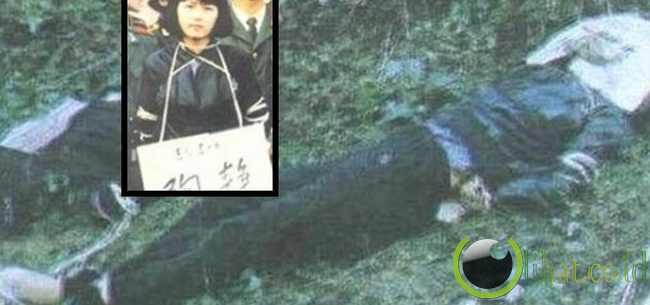 Tao Jing setelah dieksekusi oleh penembakan