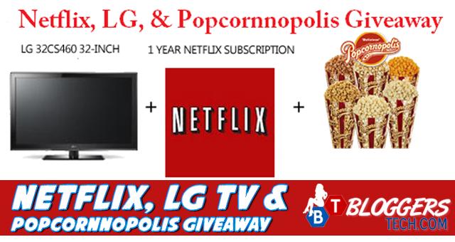 Netflix, LG TV & Popcornnopolis Giveaway