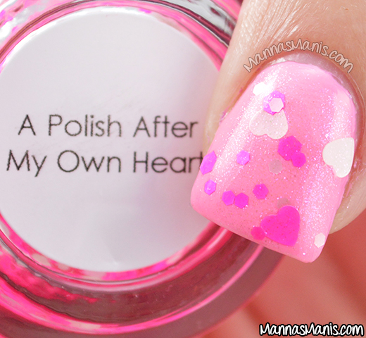 Quaint Paints Lacquer A Polish After My Own Heart macro swatch