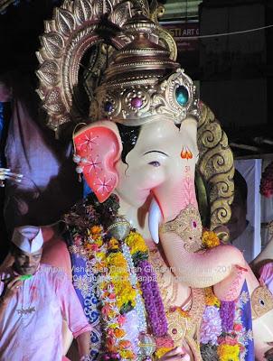 Visharajan Darshan Ganpati 2012