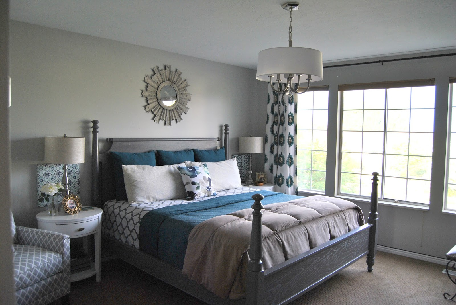 Studio 7 interior design room reveal master bedroom for Master bedrooms