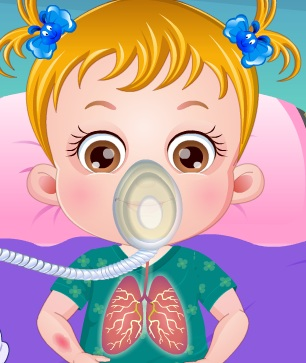 Free kids games baby hazel goes sick cure baby hazel